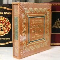 DOUBLE HELIX  DELUXE LTD ED - Easton Press - JAMES D WATSON 🖋SIGNED🖋 SEALED