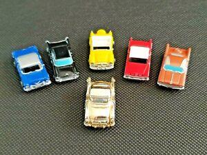 Micro Machines 50's / 60's Car Bundle + Gold Mail Away - Galoob