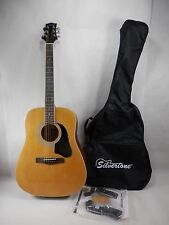 Silvertone SD3000PKN Acoustic Guitar Good Used Condition 0011010