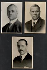 OLYMPIA 1936 - Band I - Set of 3 Original Olympic Cards - Olympic Officials -#22