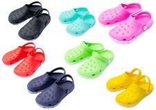 Garten Clogs Schuhe Gummischuhe Badeschuhe Pantoletten Gr.24 - Gr.45 Farbvariant
