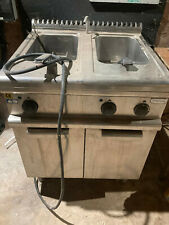 More details for three phase double sink pasta boiler water boiler bain marie