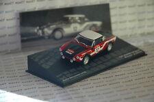VOITURE RALLYE FIAT 124 SPIDER RALLYE SAN REMO 1973 M. VERINI 1/43 IXO ALTAYA