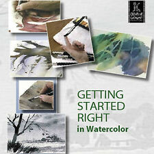 NEW DVD: GETTING STARTED RIGHT IN WATERCOLOR Jan Kunz Beginning Painting Learn