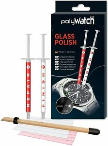 Watch Glass Repair Kit - Scratch Remover Polish Scratches watches Polywatch