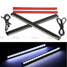 2x18 LED White High Power Car DRL 5630 COB Daytime Running Light Fog Driving #UK