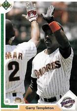 Garry Templeton Padres Shortstop 1991 Upper Deck # 295 16 yrs in MLB