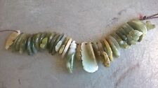 Natural A Jadeit Jade 31 fish, and Kwanying, hand, gourd, leaf, total 35 pendant