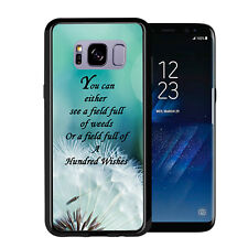 Dandelion Quote For Samsung Galaxy S8 2017 Case Cover by Atomic Market