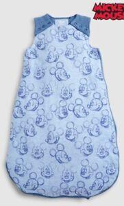 NEXT Sleep Bag Disney Mickey Mouse Size 0-6 Months Grow Sack 2.5 Togs