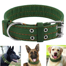 Nylon Dog Collar XL Extra Large Adjustable Extra Strength for Big Breed 2 Colors