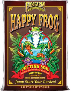 Happy Frog Potting Soil, 2 Cubic Feet FoxFarm Neww
