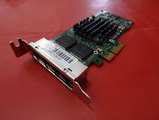 Intel i340-T4 Gigabit Ethernet Quad Port Adapter PCI-E E1G44HTBLK 340-1126-00