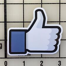 "Facebook Like 3"" Wide Vinyl Decal Sticker - BOGO"