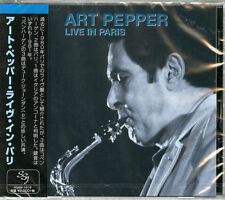 ART PEPPER-LIVE IN PARIS 1980-JAPAN CD E25