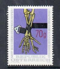 AUSTRIA MNH 1975 SG1732 CAR SAFETY BELTS CAMPAIGN
