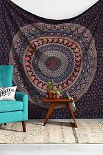Twin Hippie Indian Tapestry Elephant Mandala Throw Wall Hanging Gypsy Bedspread