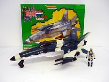 GI JOE CONQUEST X-30 Spy Troops Action Figure & Vehicle COMPLETE w/BOX 2003