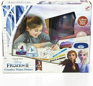 Disney Frozen 2 Creative Water Domes - 3 Pack Brand New Boxed & Sealed