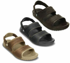 Crocs Leather Sandals for Men