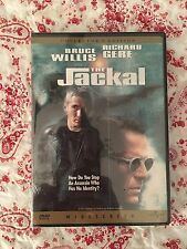 The Jackal Widescreen DVD New Sealed Collector's Edition Bruce Willis