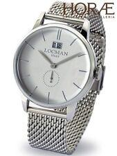 Orologio da polso uomo Locman collezione 1960 0252V06-00AGNKB0 datario grigio