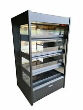 More details for nuttall commercial hot display cabinet, hot-hold food cabinet grab & go display
