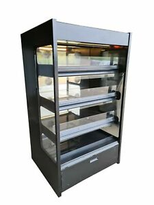 Nuttall Commercial Hot Display Cabinet, Hot-Hold Food Cabinet Grab & Go Display