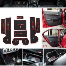 For Mitsubishi Lancer-ex Rubber Non-slip Mat Interior Cup Pad Door Groove Mat