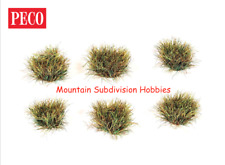 PECO Scene PSG-76 10mm Grass Tufts - AUTUMN - Self Adhesive 100 pk MODELRRSUPPLY