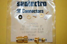 SEALECTRO 050-107-0000-220 75 OHM SCREW TYPE MALE CONNECTOR  (x1)  fd7L43