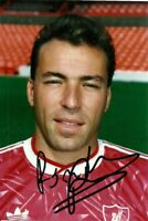 Ronny Rosenthal Official Liverpool FC Hand Signed Photo Season 1990-91 Very Rare