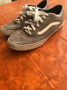 Geoff Rowley Vans Grey Suede Vintage OG SIZE 13 Missing Insoles Waffle Grip