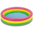 Intex Inflatable Sunset Glow Colorful Backyard Kids Play Pool | 57422EP