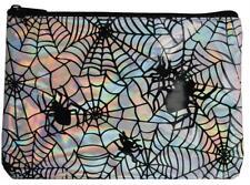 Iridescent Spider Web Makeup Bag Costume Accessory Glh180778