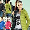 Winter Women's Short Coat Fashion Hooded Down Coat Jacket Warm Outwear Parka Top