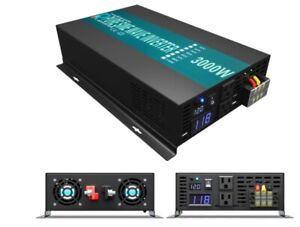 WZRELB RBP300012 - 3000W 12V 110~120V Pure Sine Wave Solar Power Inverter DC-AC