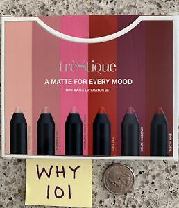 Trestique A Matte For Every Mood Mini Matte Lip Crayon Set: 6 Matte Crayons $72