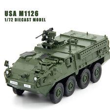 USA M1126 1/72 DIECAST MODEL FINISHED TANK UNISTAR