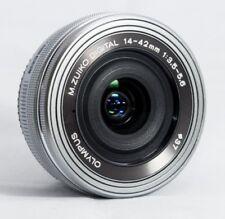 OLYMPUS M ZUIKO 14-42mm f3.5-5.6 EZ Lens - Silver (Bulk Package)