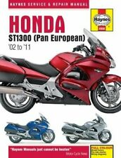 Honda St1300 St1300A Motorcycle Repair Shop Manual Book Haynes (Fits: Honda)