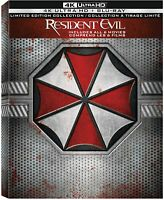 Resident Evil: Complete Collection - 4K Blu-ray Box Set [Sony Limited Edition]
