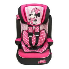 Disney Minnie Mouse Nania Imax Deluxe Group 1-2-3 Girls Car Seat Pink Kids.