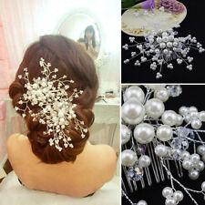 Barrettes et épingles à cheveux Accessoires à la main charmant perles mariage