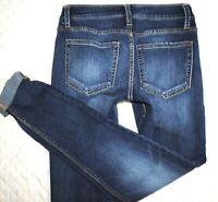 Daytrip Buckle Lynx  Skinny Mid Rise Plain Pocket Womens Denim Jeans 4 27 x 32