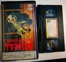 VHS - DIMENSIONE TERRORE di Fred Dekker [CBS FOX - MORBIDA]