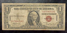 {BJSTAMPS} 1935 A $1 HAWAII Silver Certificate Brown SEAL