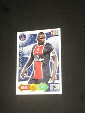 SAKHO  PSG PARIS SAINT GERMAIN Trading card carte ADRENALYN PANINI 2011-2012