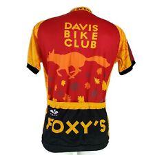 Voler Foxy's Fall Century Davis Bike Club Large Cycling Jersey