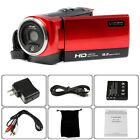 FHD 720P 16MP Digital Video Camcorder Camera DV DVR 2.7'' TFT LCD 16X ZOOM Lot
